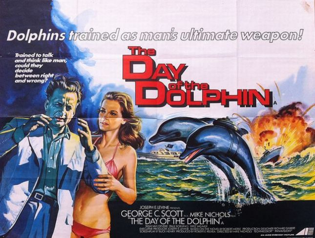 Movie poster for The Day of the Dolphin